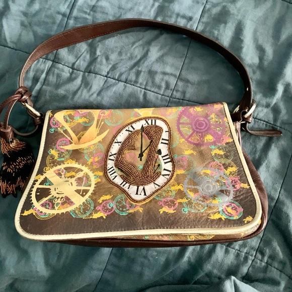 Sharif Alice in Wonderland Mad Hatter Shoulder bag